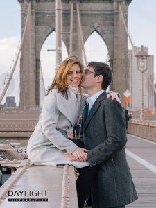 brooklyn bridge book couple photographers
