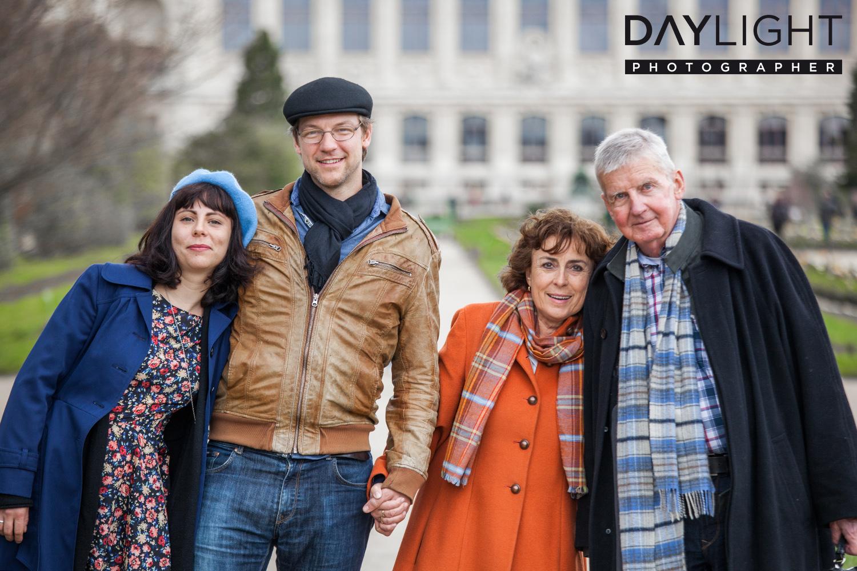 family photoshooting paris