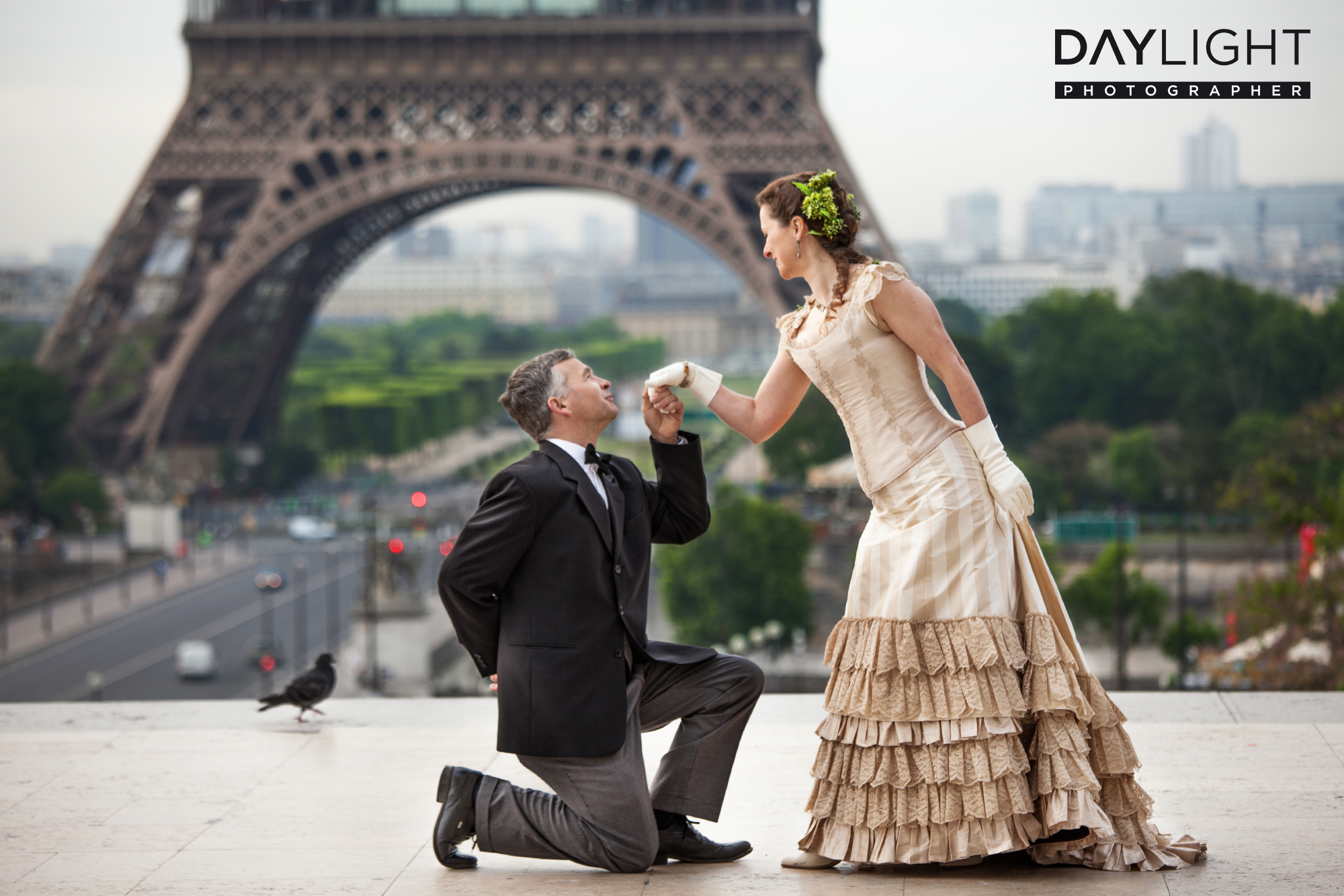 special wedding photoshooting in paris
