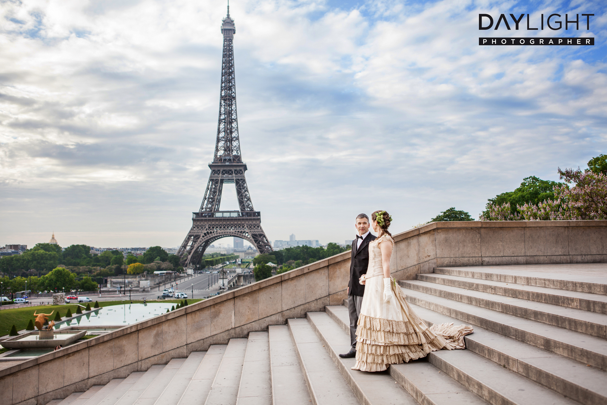 wedding photographers eiffeltower